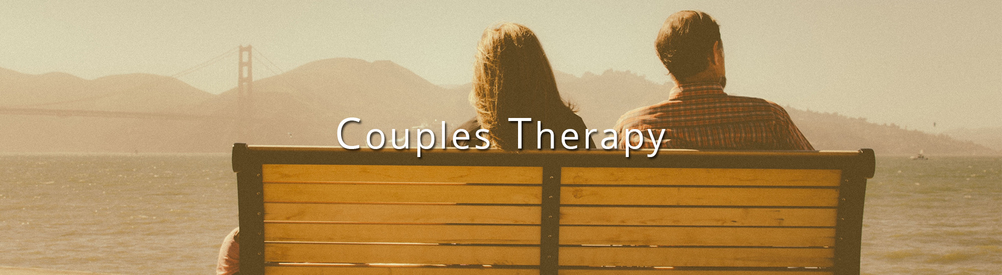 Couples Therapy in San Francisco