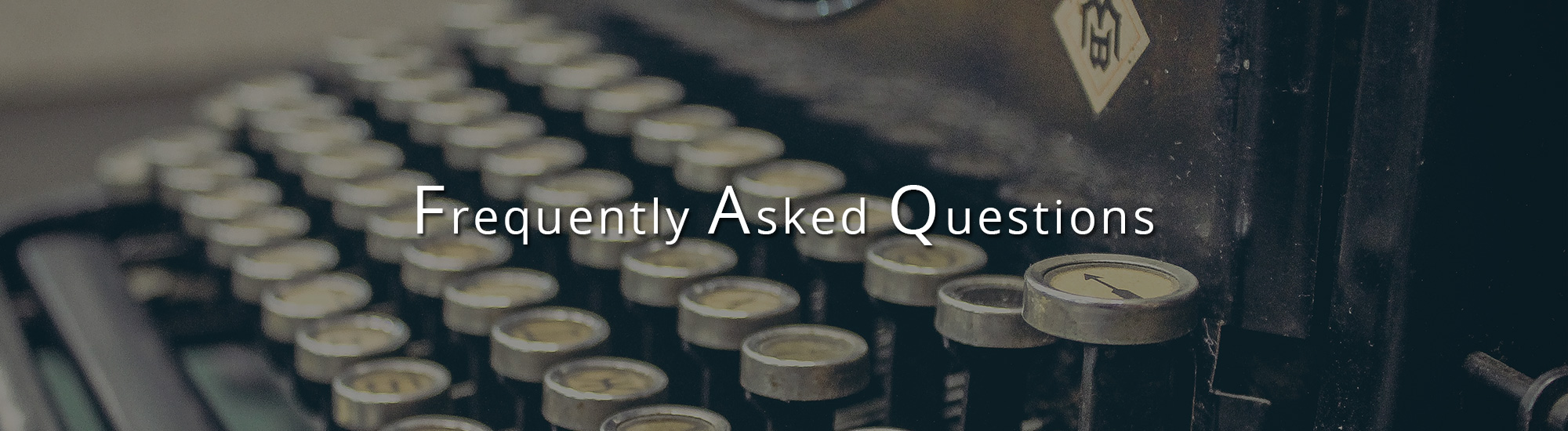 Frequency Asked Questions FAQ for Therapy in San Francisco
